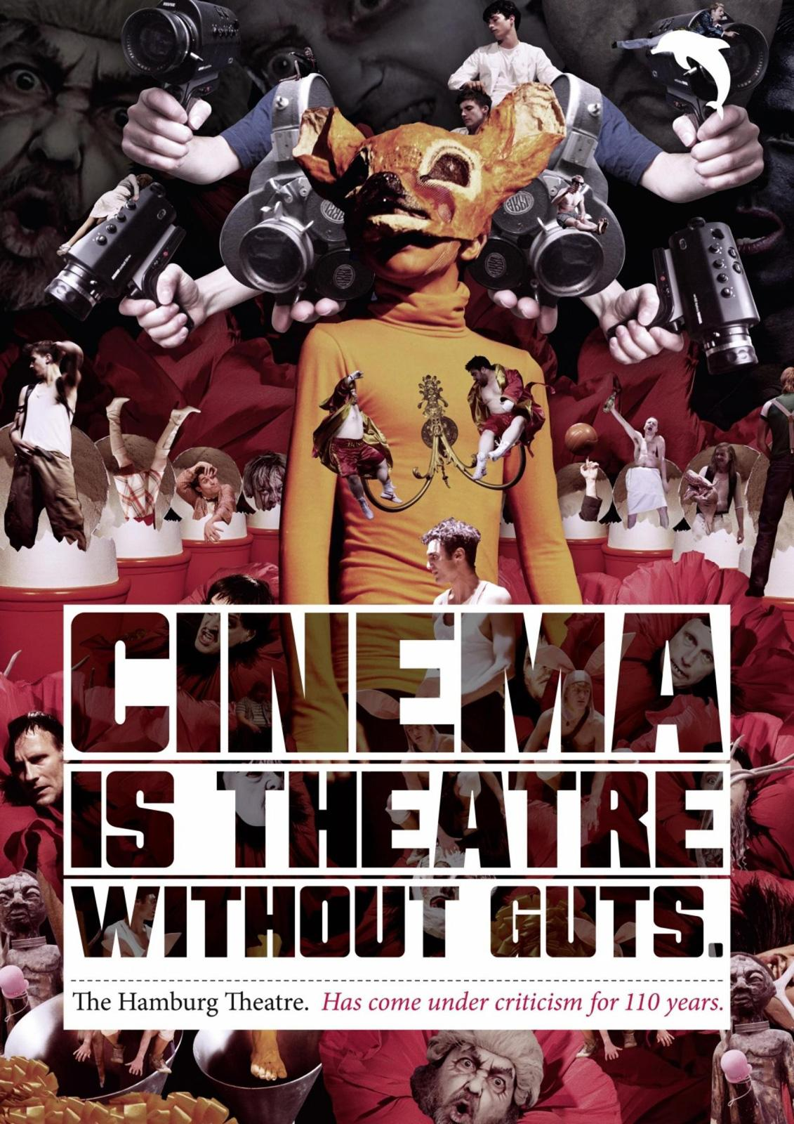 The Hamburg theatre Print Ad -  Cinema