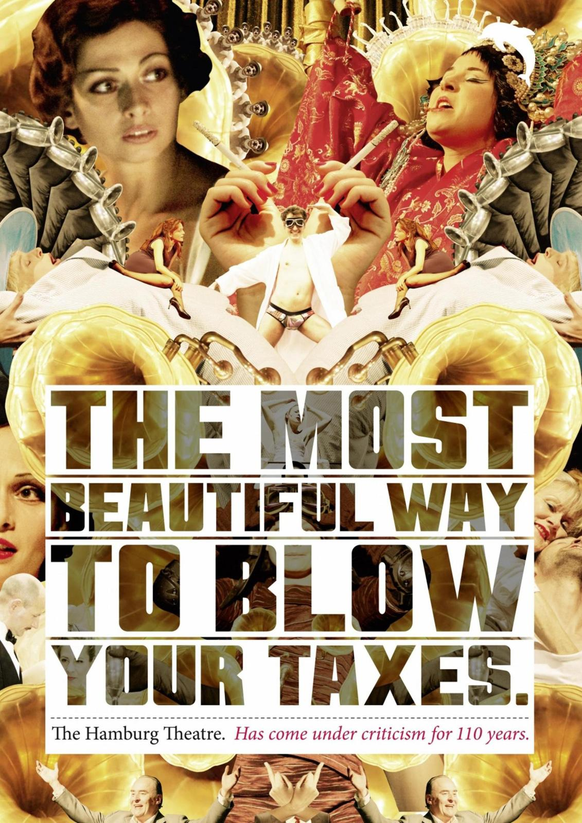 The Hamburg theatre Print Ad -  Taxes