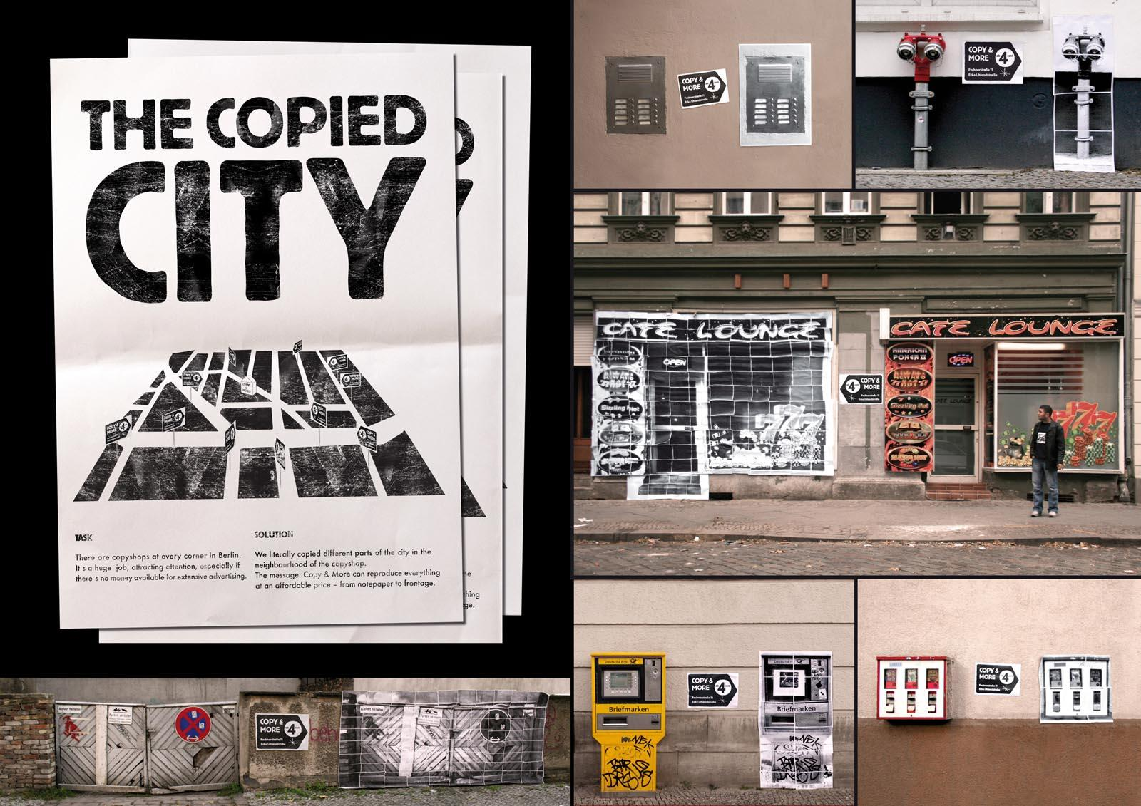 Copyshop Outdoor Ad -  The Copied City
