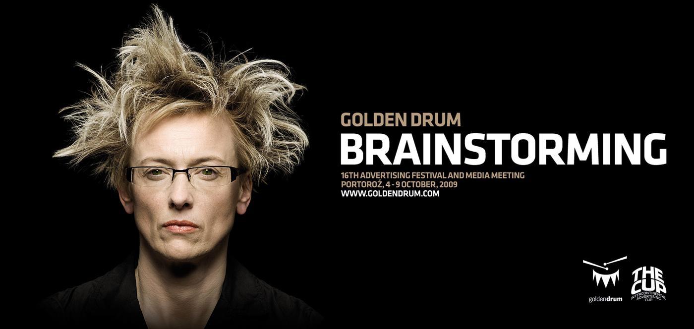 Golden Drum Print Ad -  Brainstorming, 2