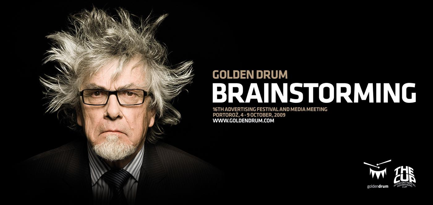 Golden Drum Print Ad -  Brainstorming, 3