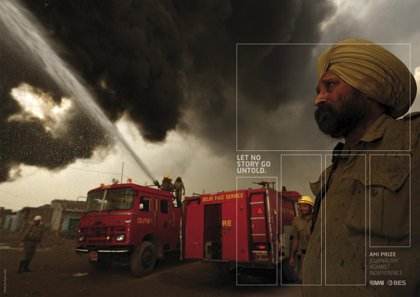 AMI Print Ad -  The grid, Firebrigade