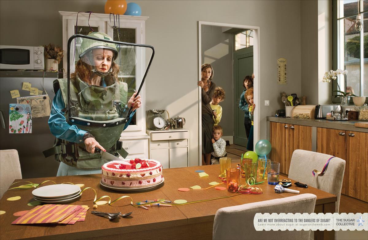 The Sugar Collective Print Ad -  Cake