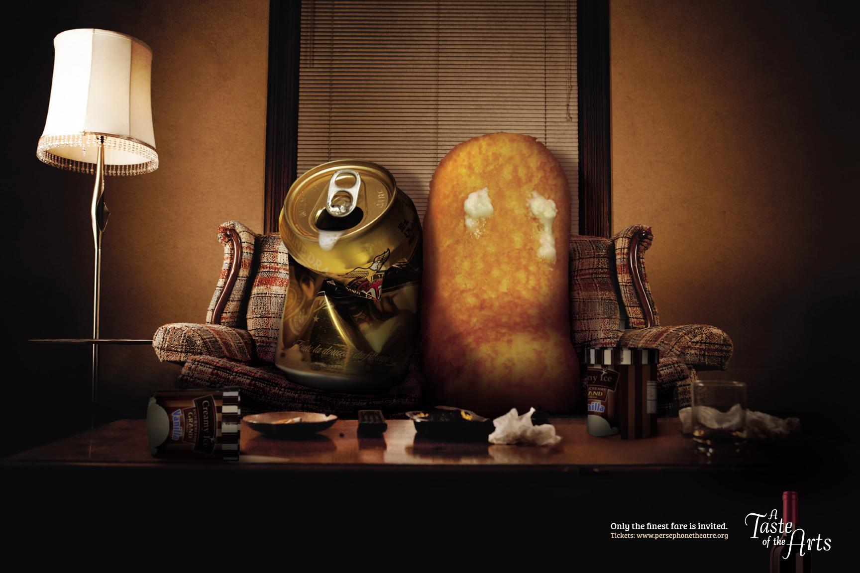Taste of the Arts Print Ad -  The Uninvited