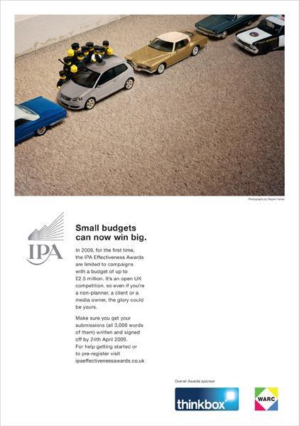 IPA Print Ad -  Win big