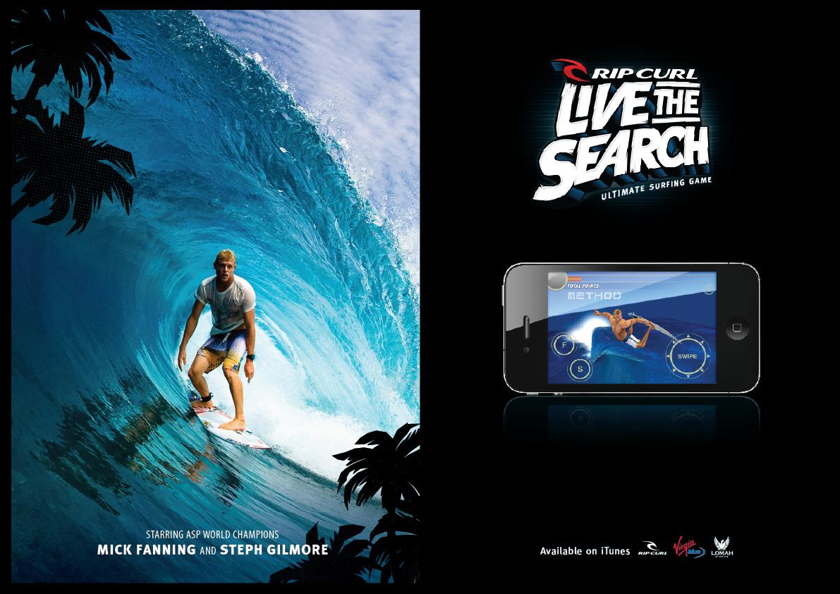 Rip Curl Digital Ad -  Live The Search
