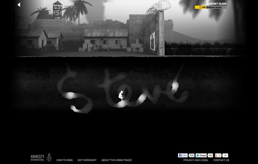 Amnesty International Digital Ad -  Name Tunnels