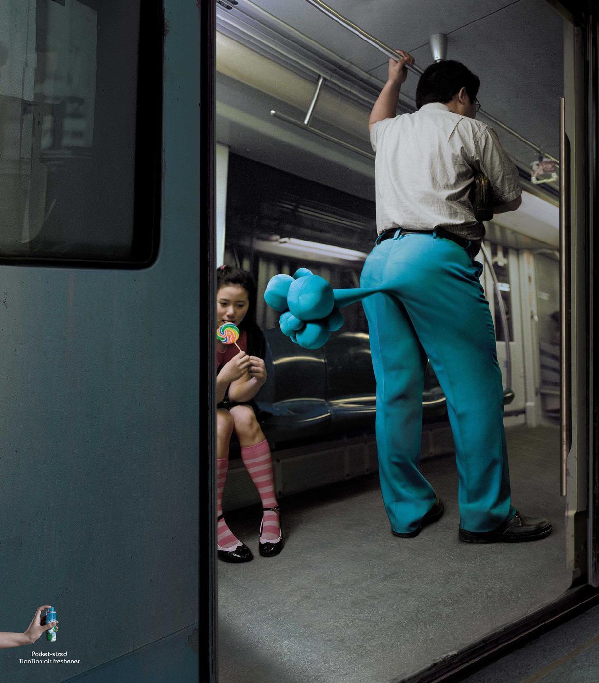 TianTian Print Ad -  Metro