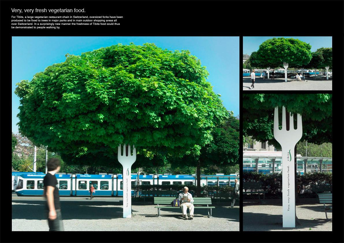 Tibits Ambient Ad -  Fork