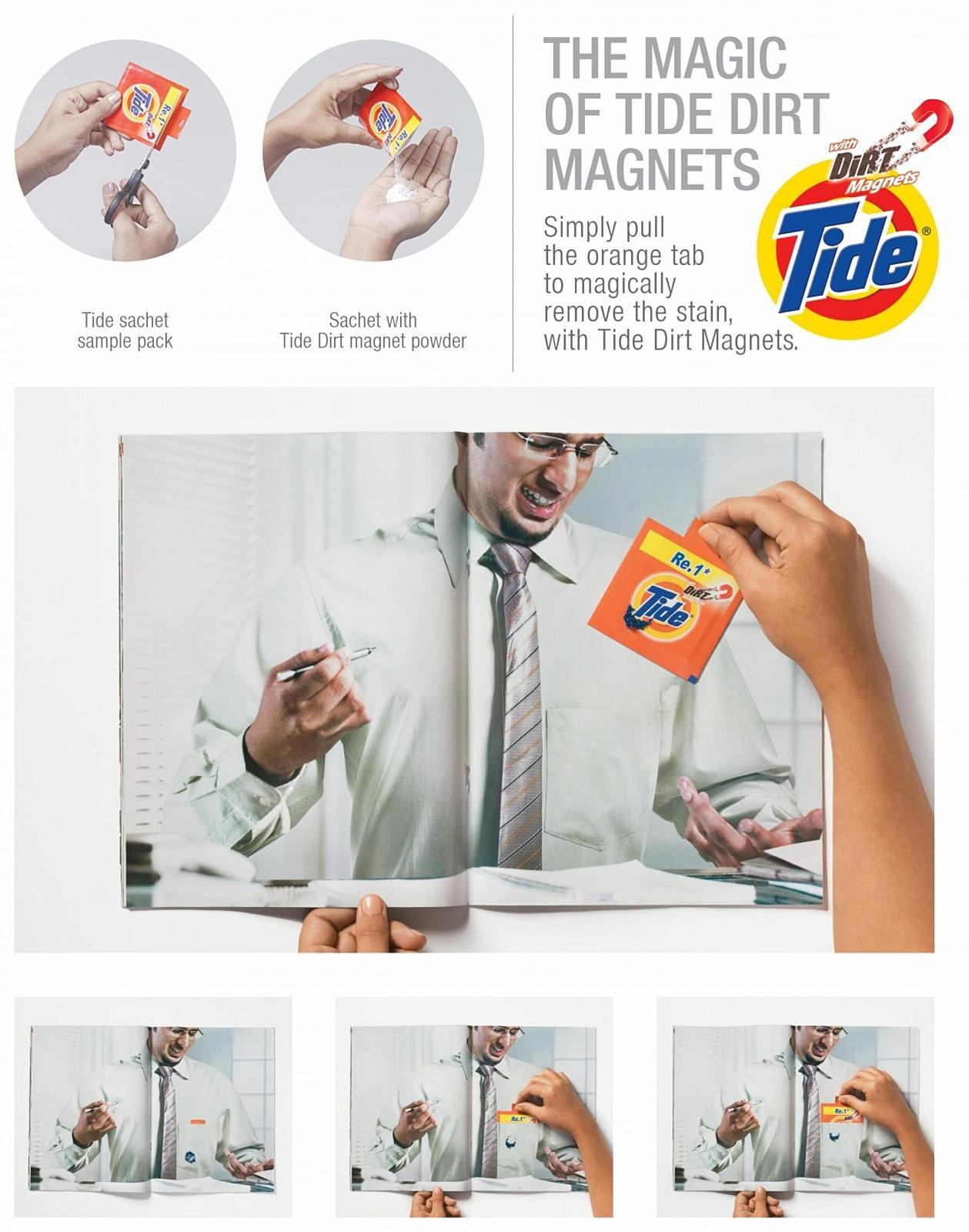 Tide Print Ad -  Ink