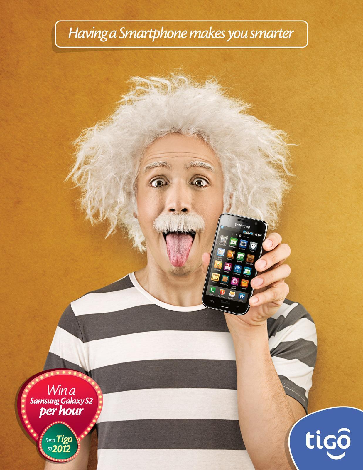 Tigo Print Ad -  Smartphone, 3