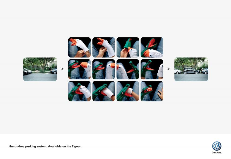 Volkswagen Print Ad -  Hands-free parking, 2