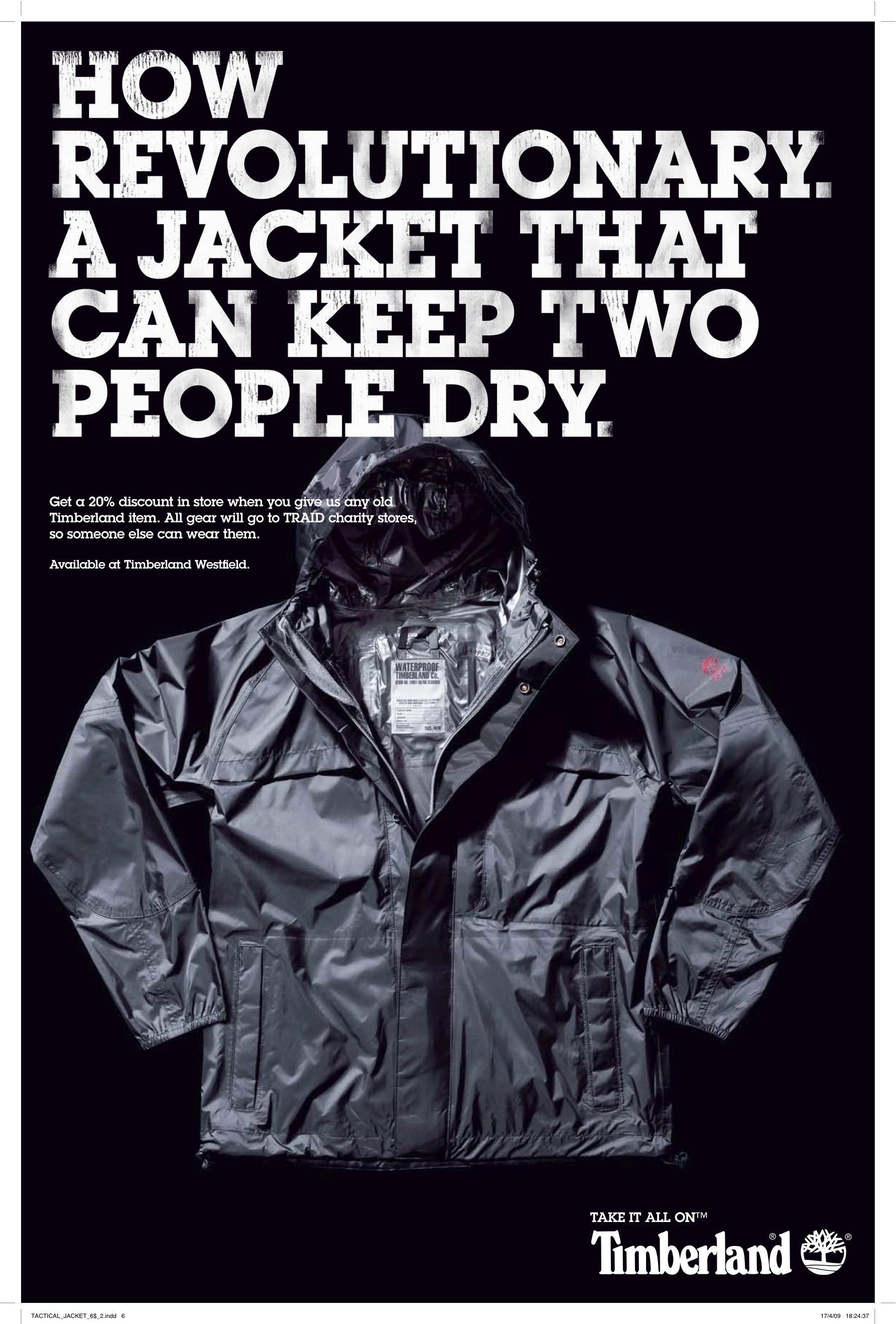 Timberland Print Ad -  Revolutionary
