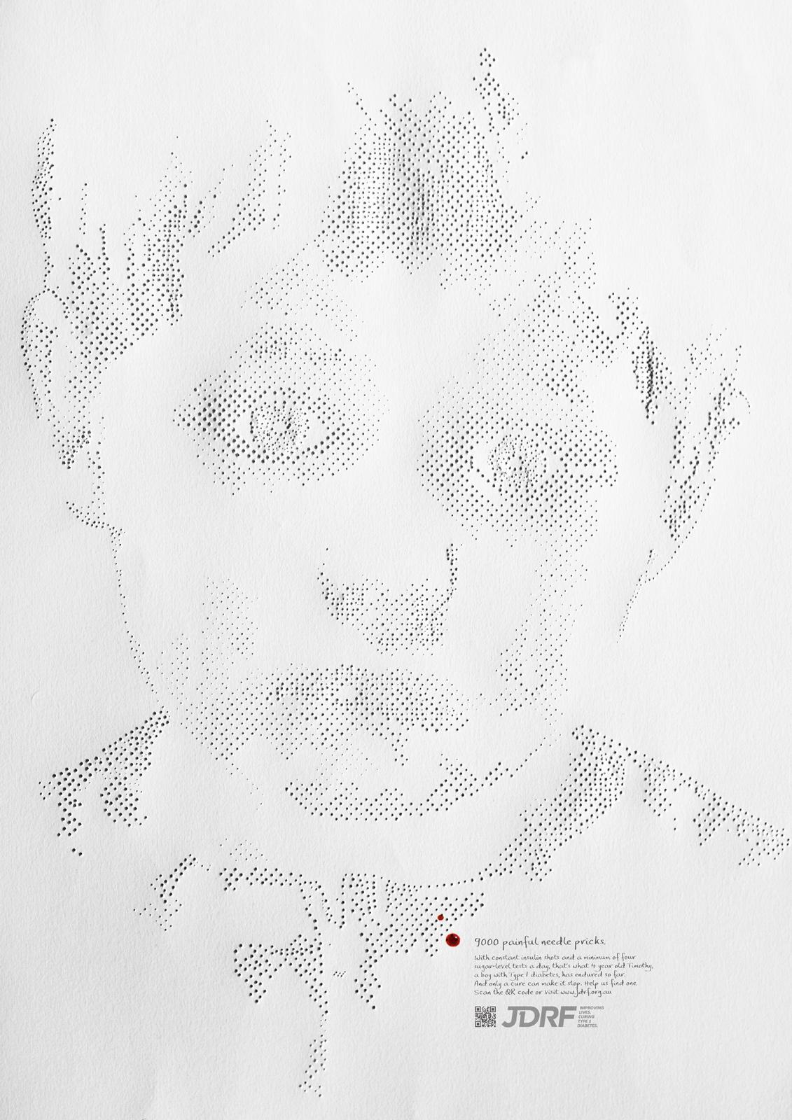 Juvenile Diabetes Research Foundation Print Ad -  Timothy