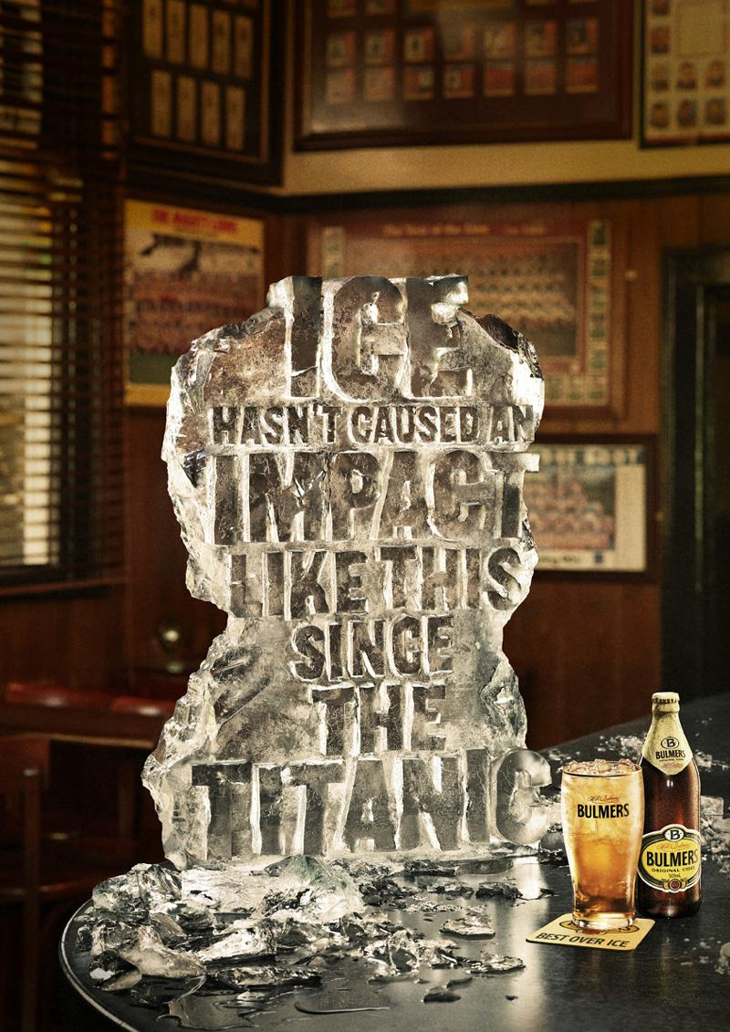 Bulmers Outdoor Ad -  Titanic