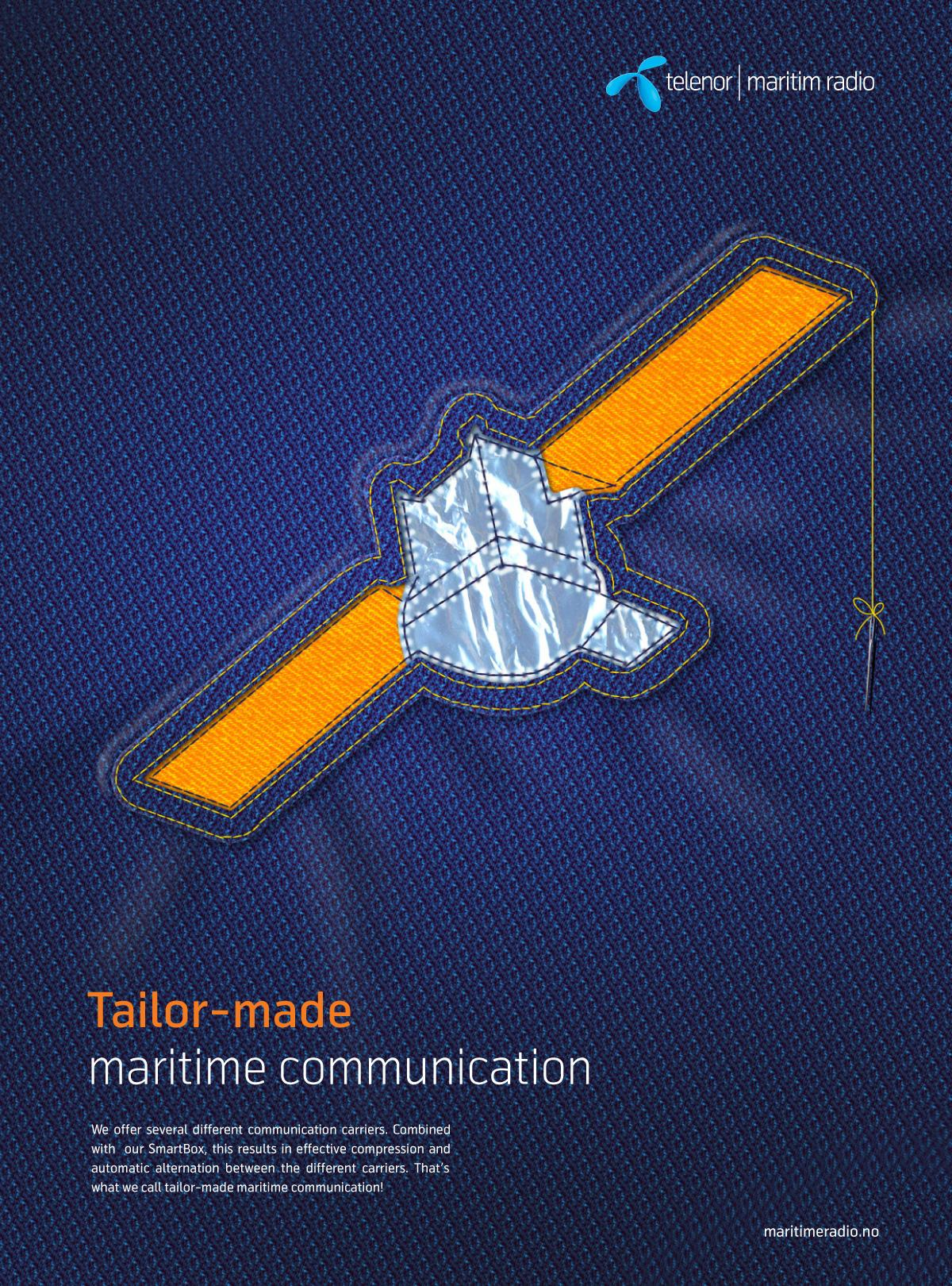 Telenor Print Ad -  Tailor-made, 1