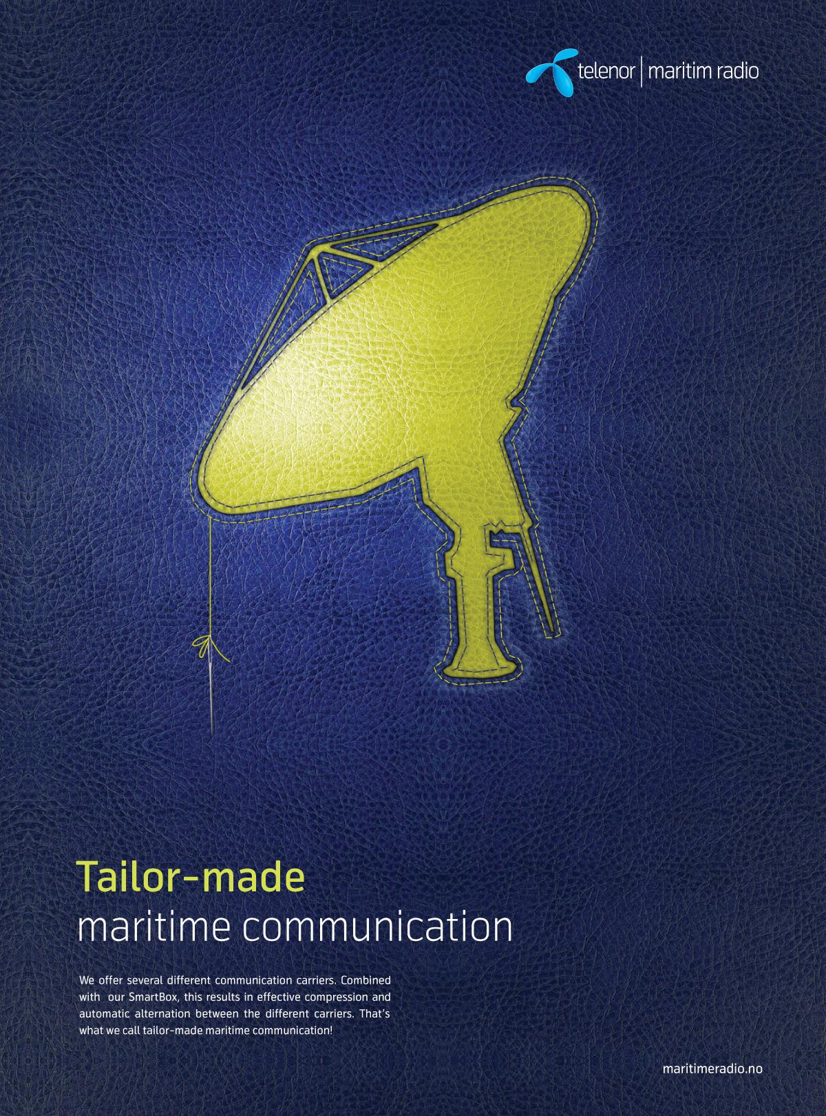 Telenor Print Ad -  Tailor-made, 2