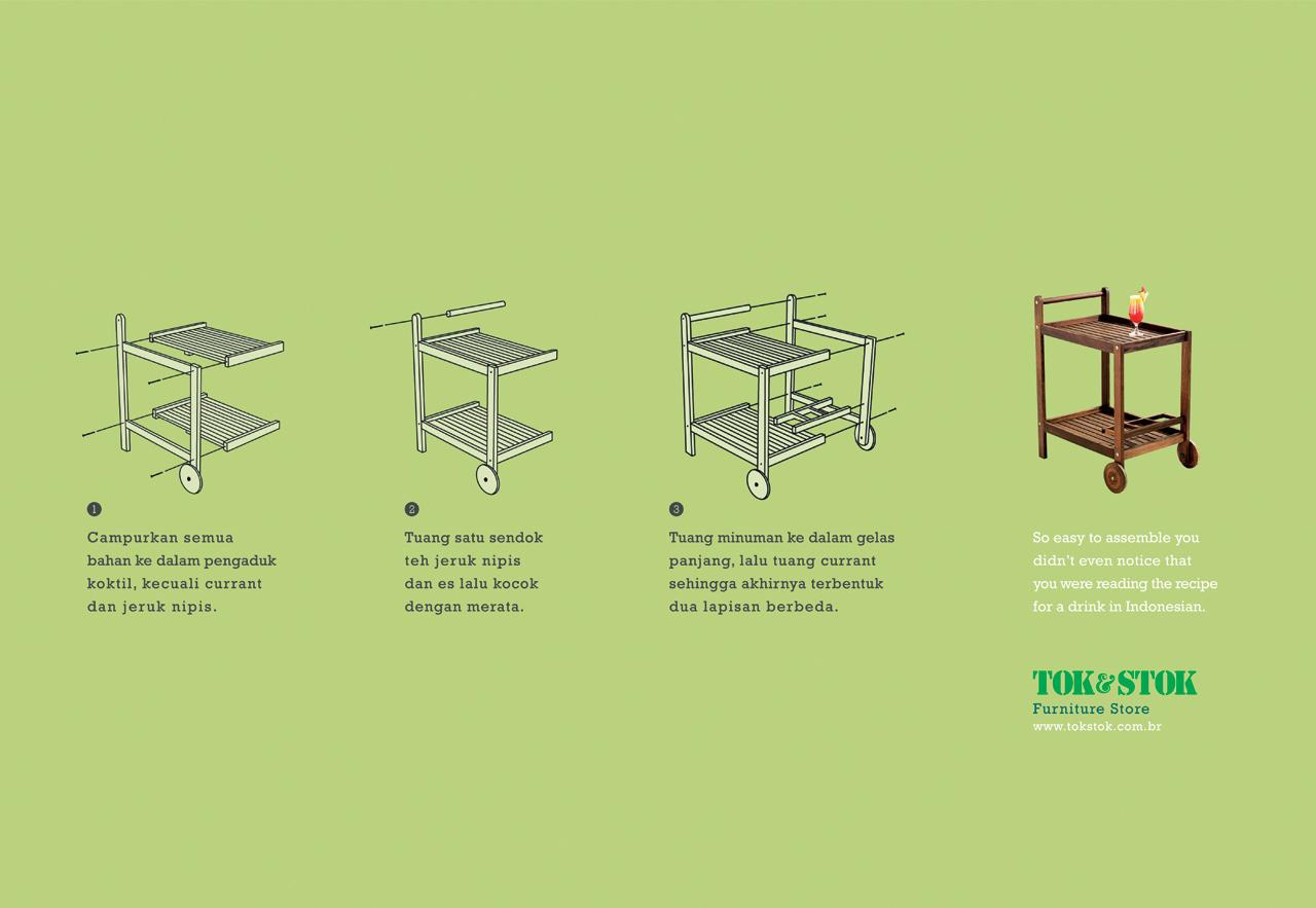 Tok&Stok Print Ad -  Drink