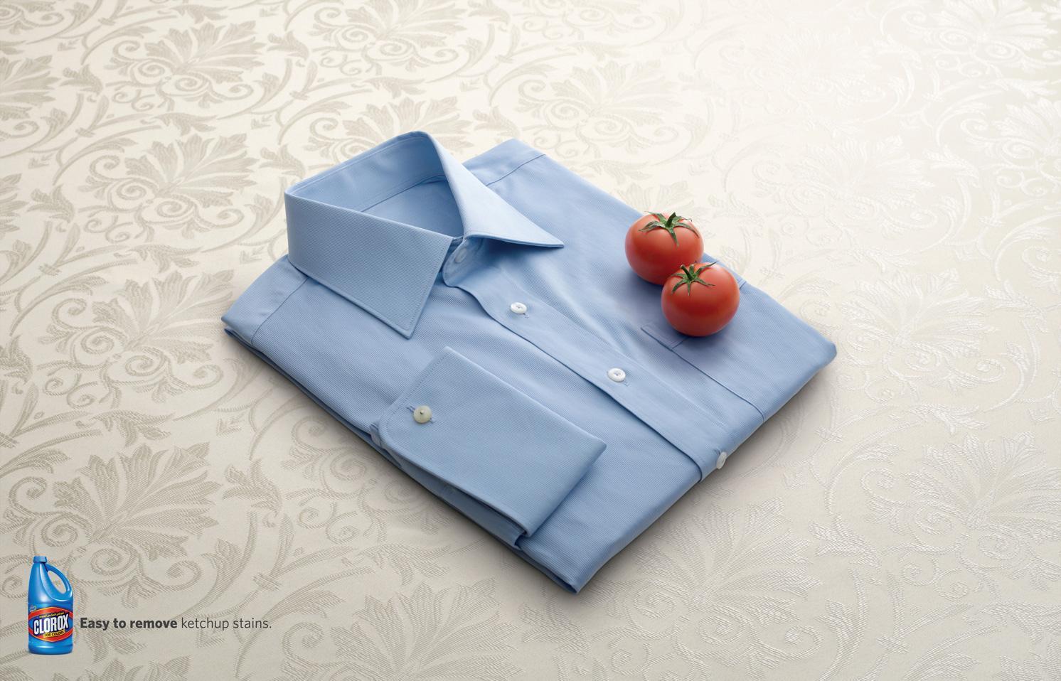 Clorox Print Ad -  Tomato