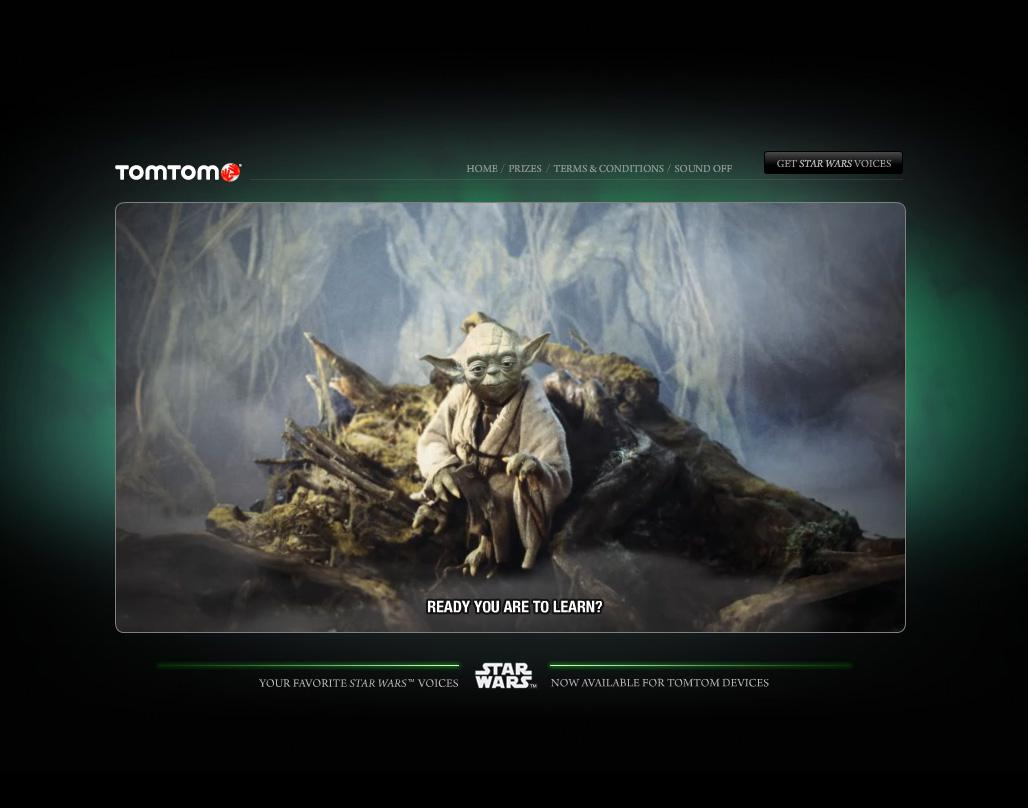 TomTom Digital Ad -  The Force