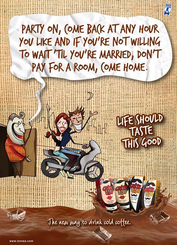 Toni Print Ad -  Dad
