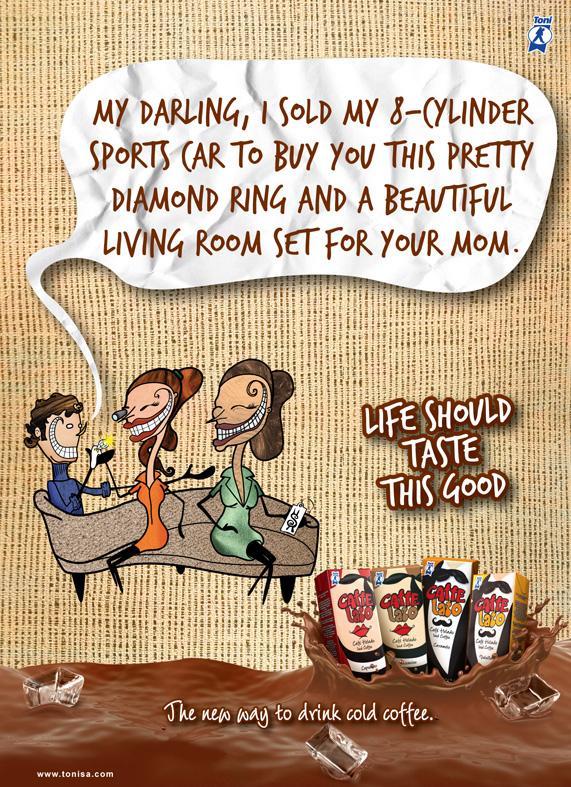 Toni Print Ad -  Family