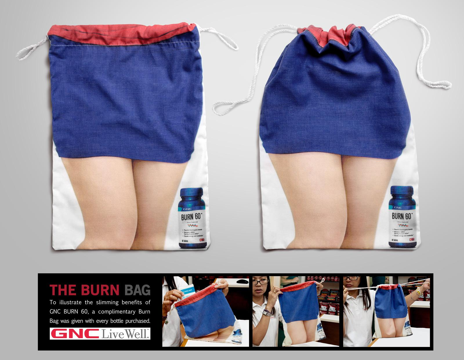 GNC Direct Ad -  Burn bag
