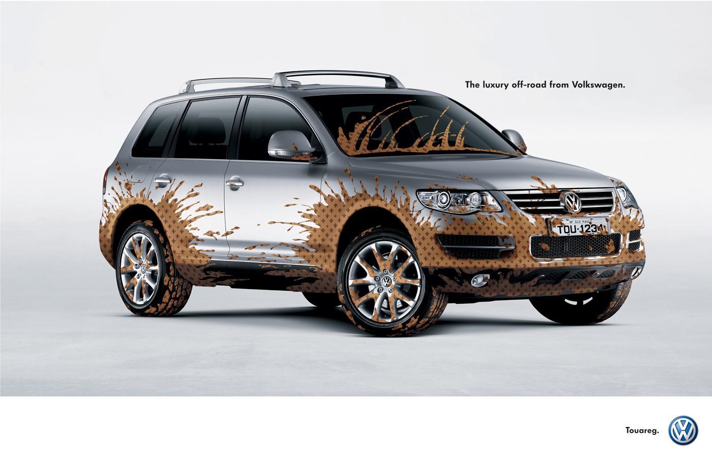 Volkswagen Print Ad -  Chic mud