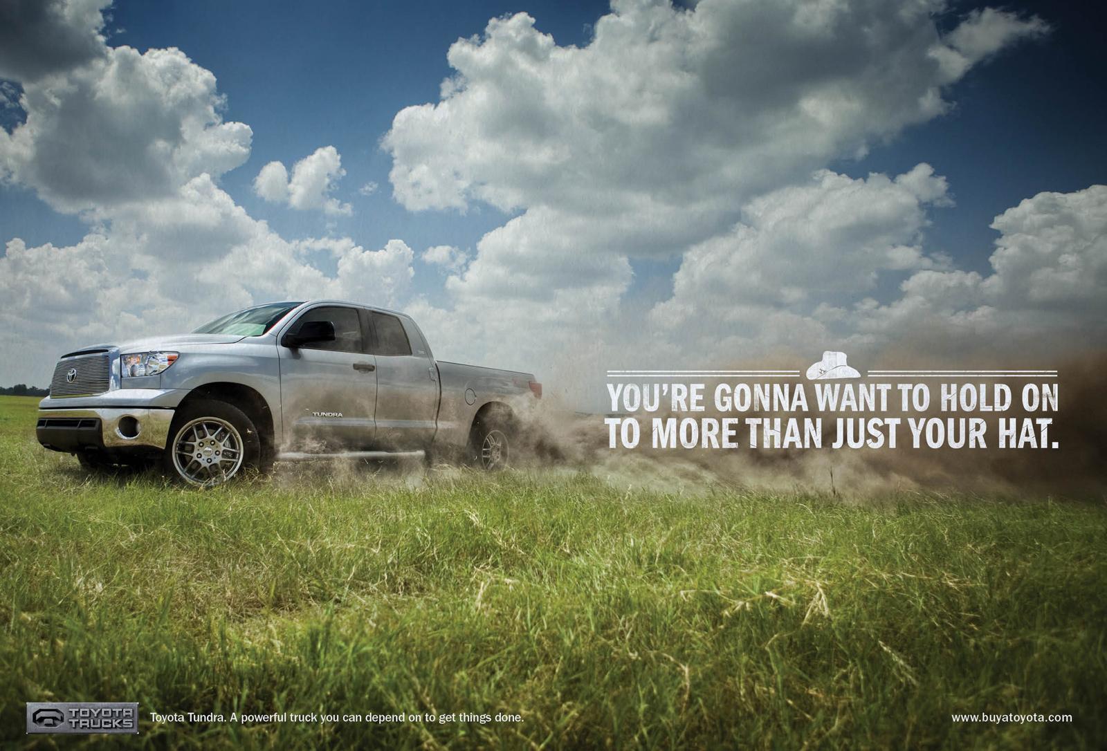 Toyota Print Ad -  Hat