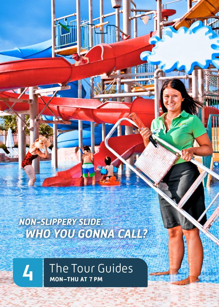 The Tour Guides Print Ad -  The Tour Guides, 2