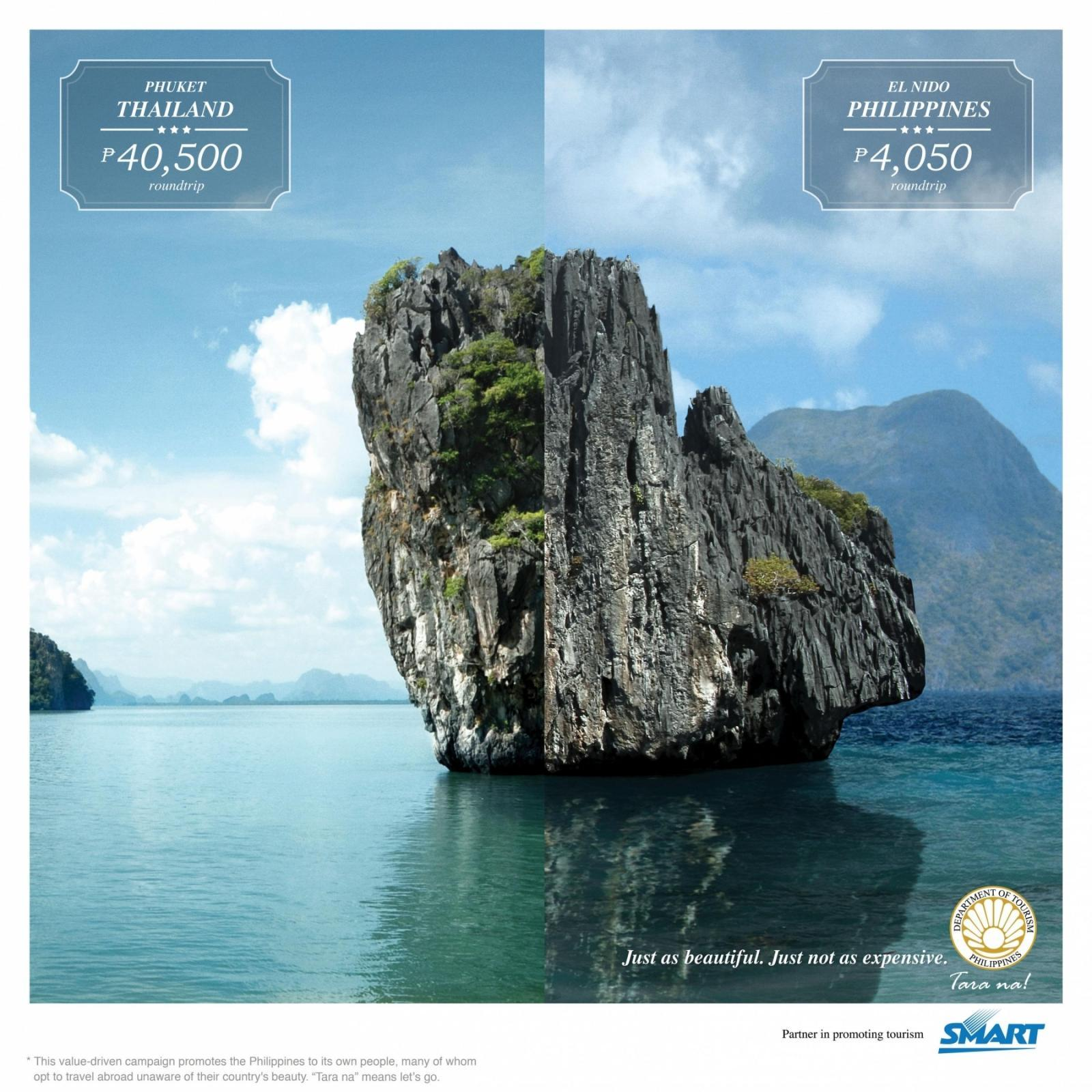 Department Of Tourism Philippines Print Ad -  Limestone