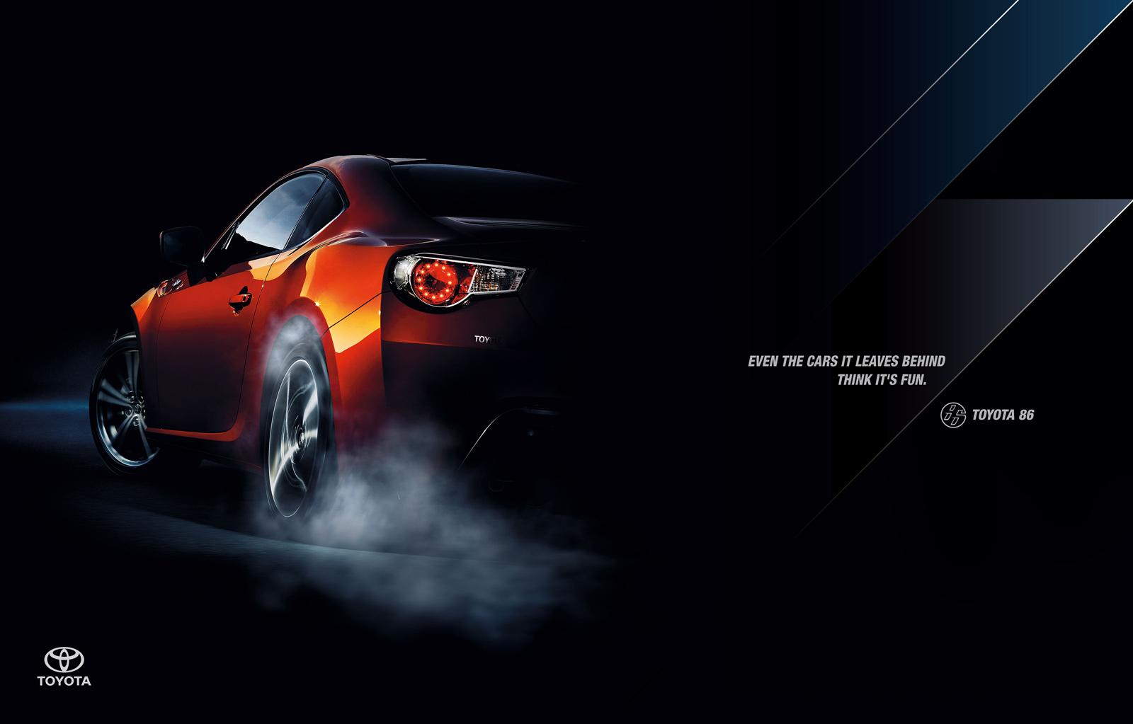 Toyota Print Ad -  Toy
