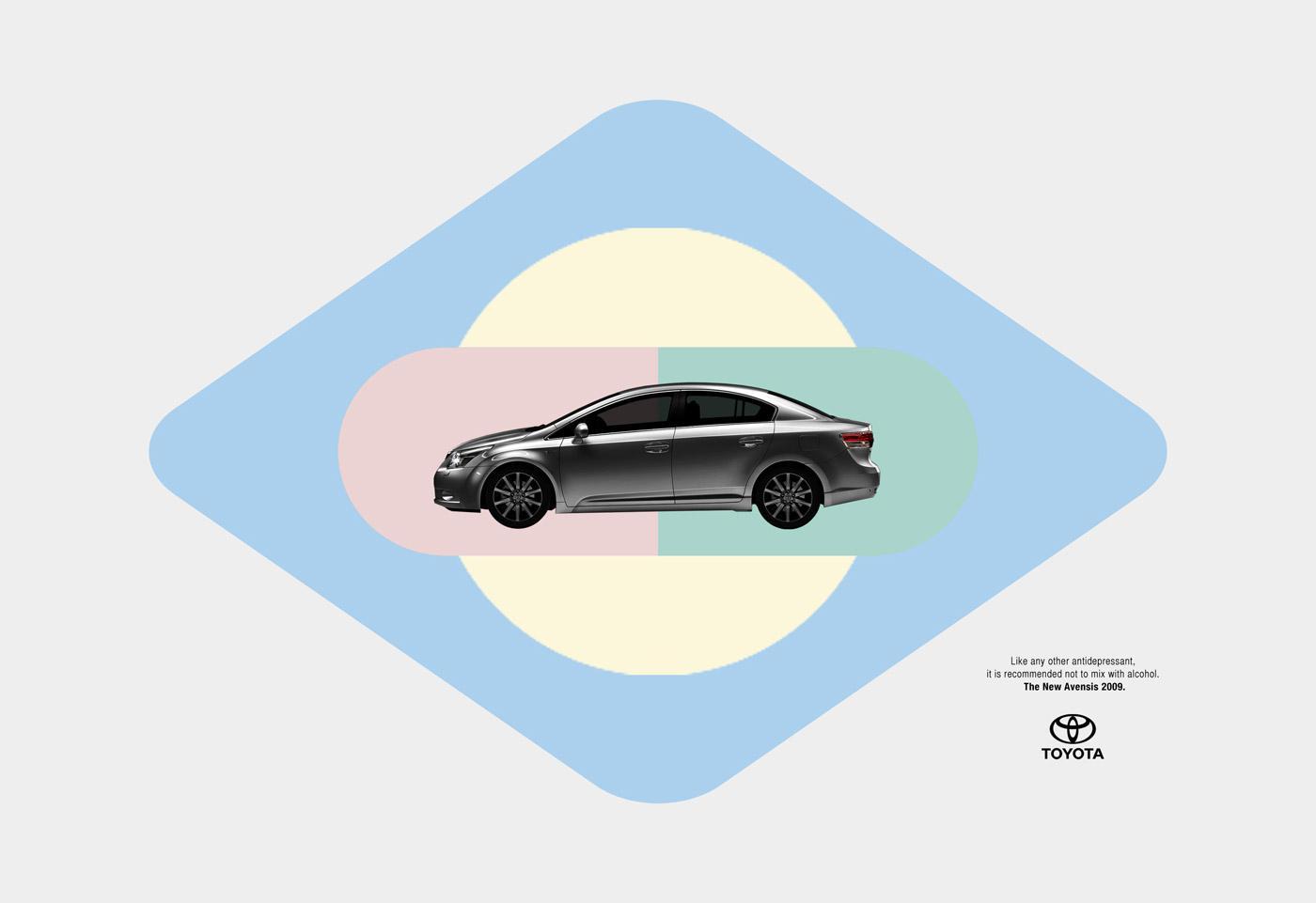 Toyota Print Ad -  Antidepressant