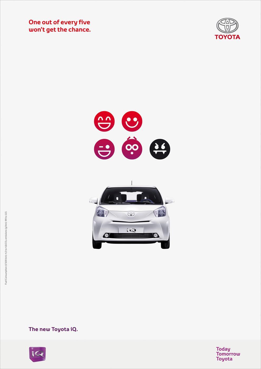 Toyota Print Ad -  Faces