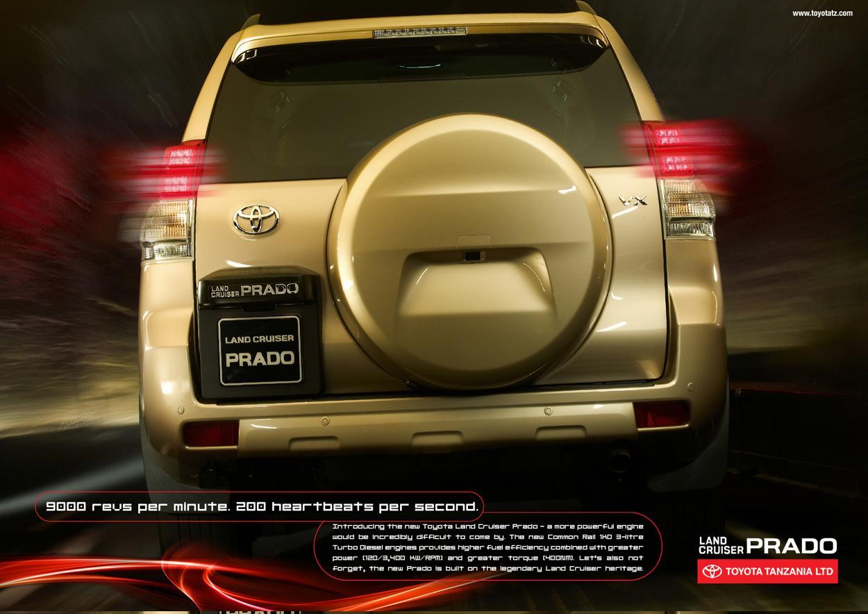 Toyota Print Ad -  Heartbeats