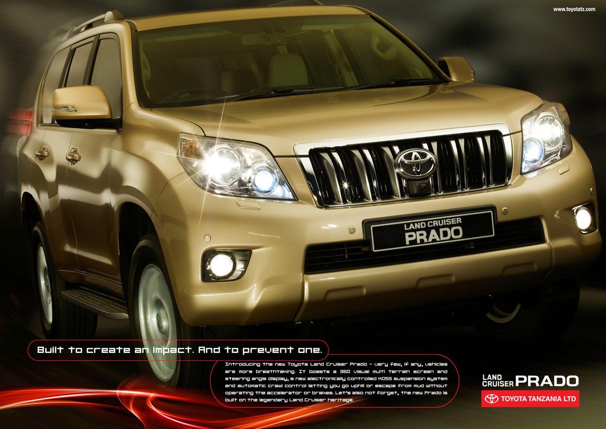 Toyota Print Ad -  Impact