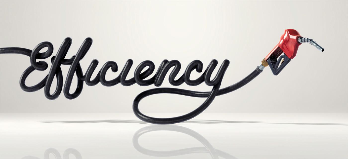 Toyota Print Ad -  Efficiency