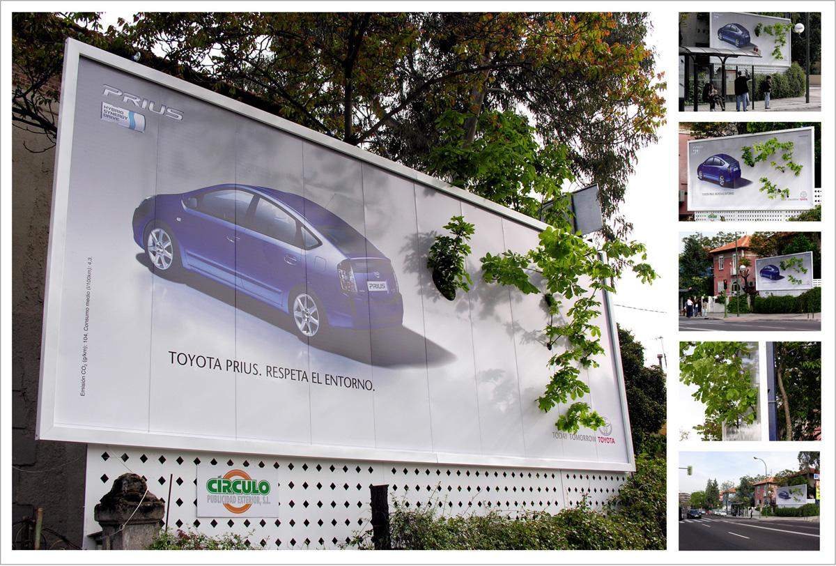 Toyota Outdoor Ad -  Tree