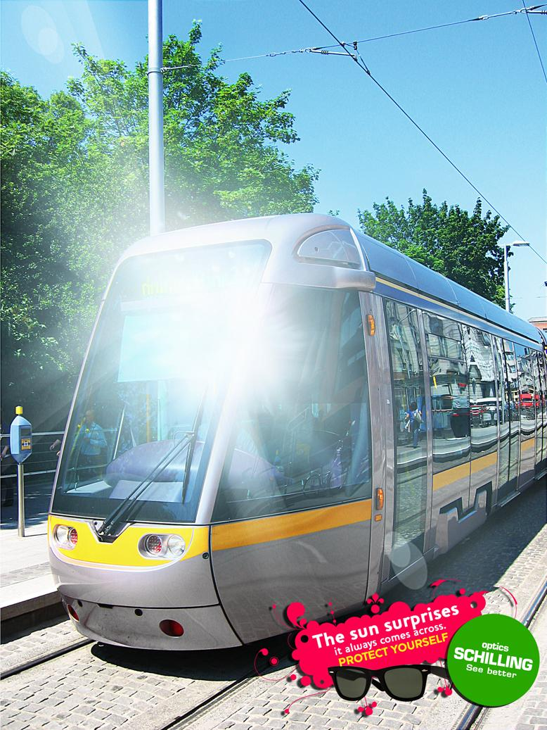 Ópticas Schilling Print Ad -  Tram