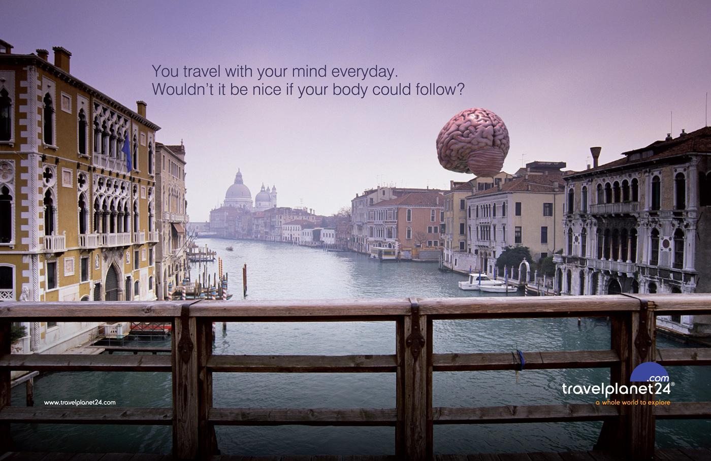 Travel Planet 24 Print Ad -  Venice