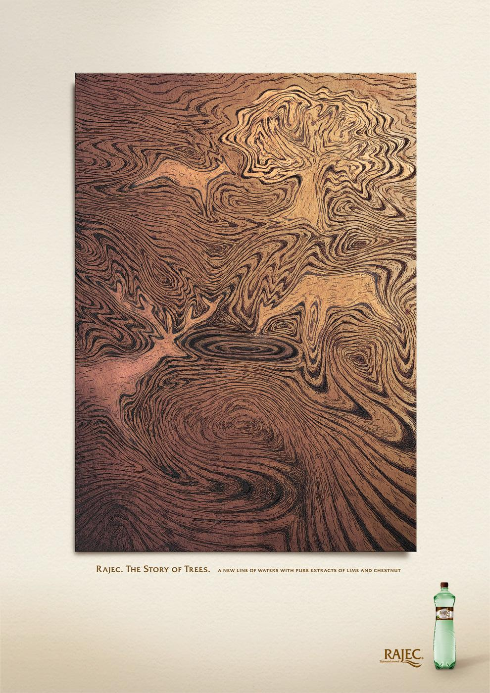Rajec Print Ad -  The Story of Trees, 2