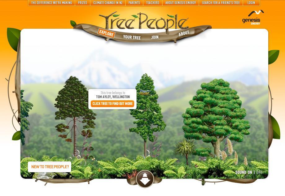 Genesis Digital Ad -  TreePeople
