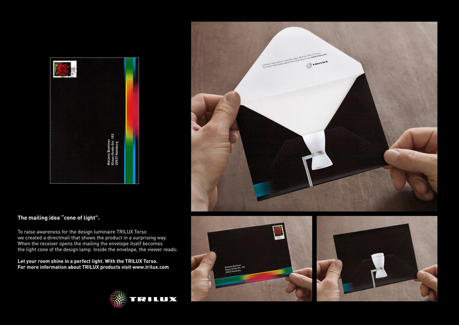 Trilux Direct Ad -  Cone of light