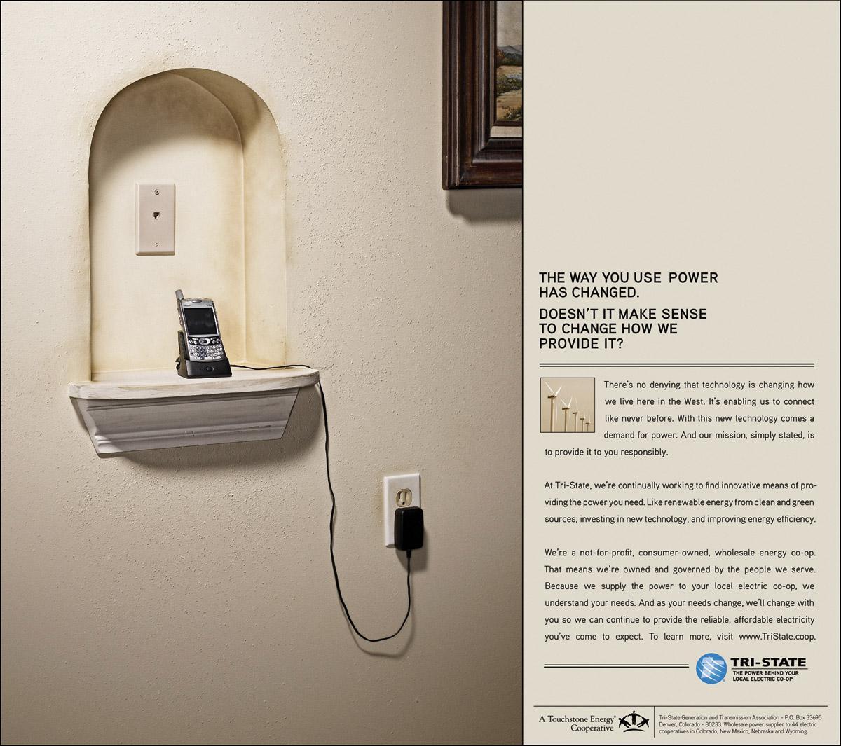 Tri-State Print Ad -  Wall cellular