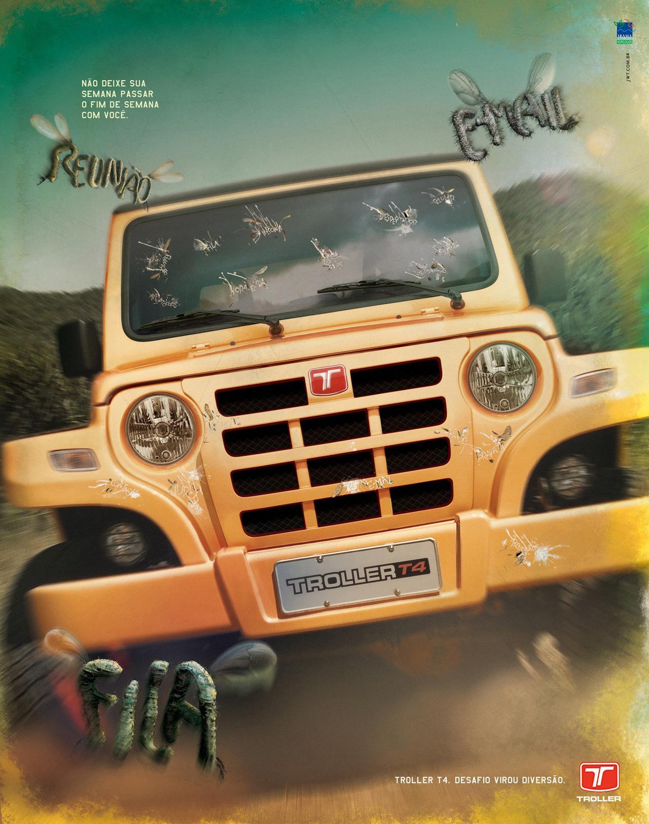 Ford Print Ad -  Flies