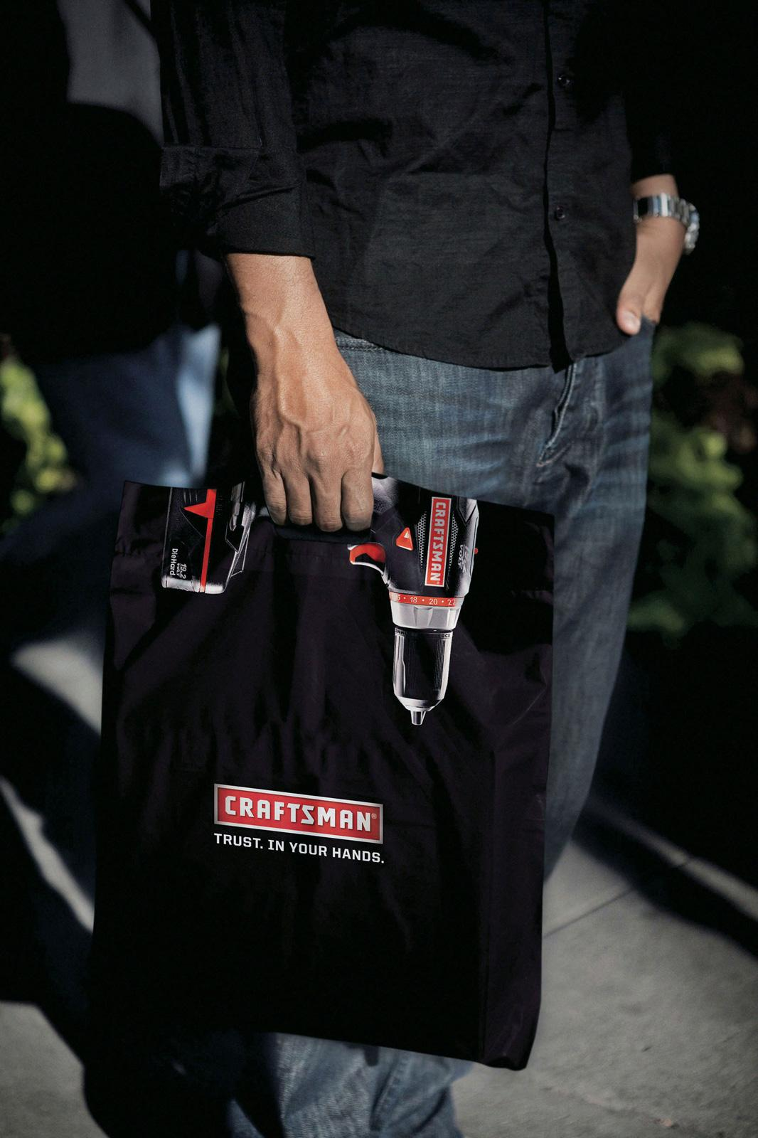 Craftsman Tools Direct Ad -  Drill bag