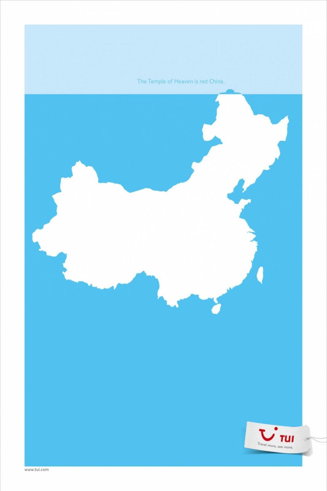 TUI Print Ad -  China