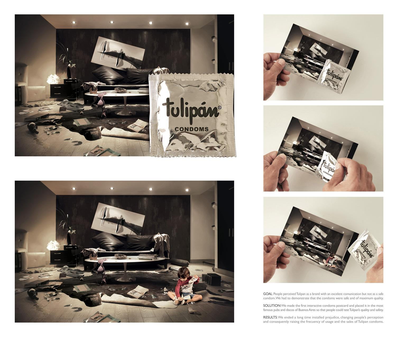 Tulipan Print Ad -  Mess