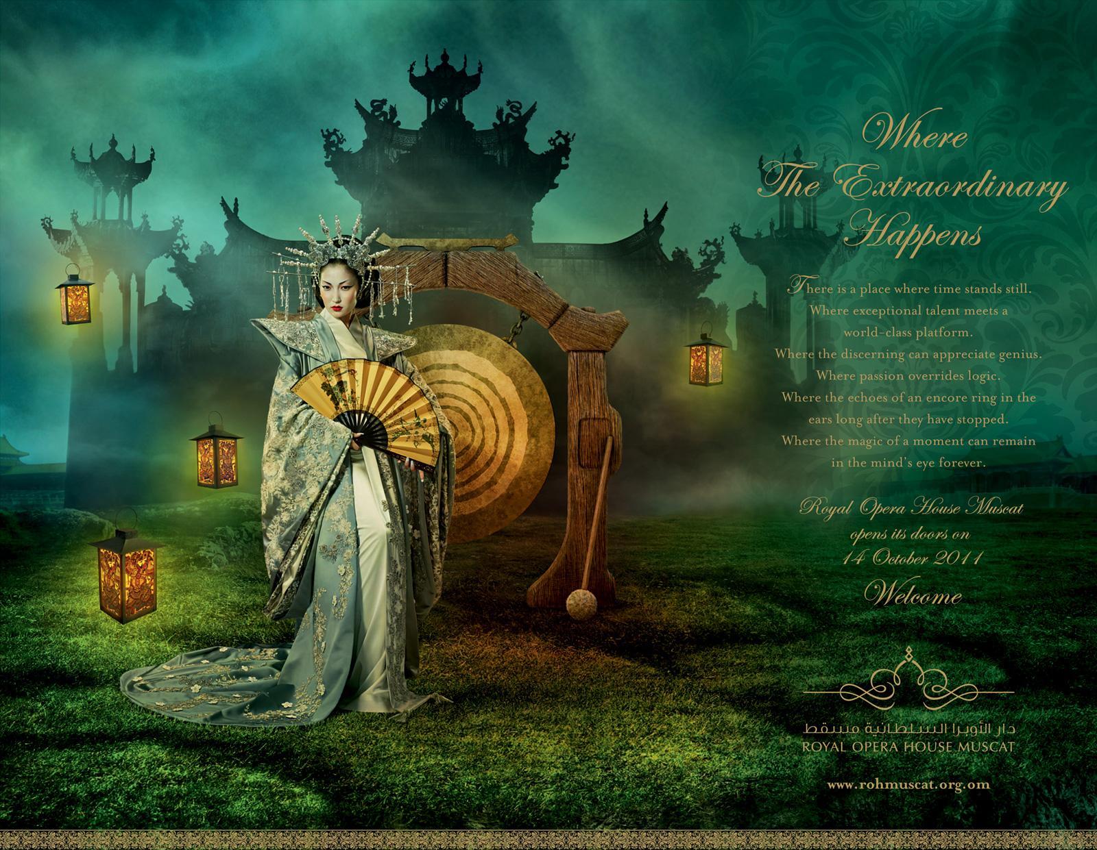 Royal Opera House Muscat Print Ad -  Turandot