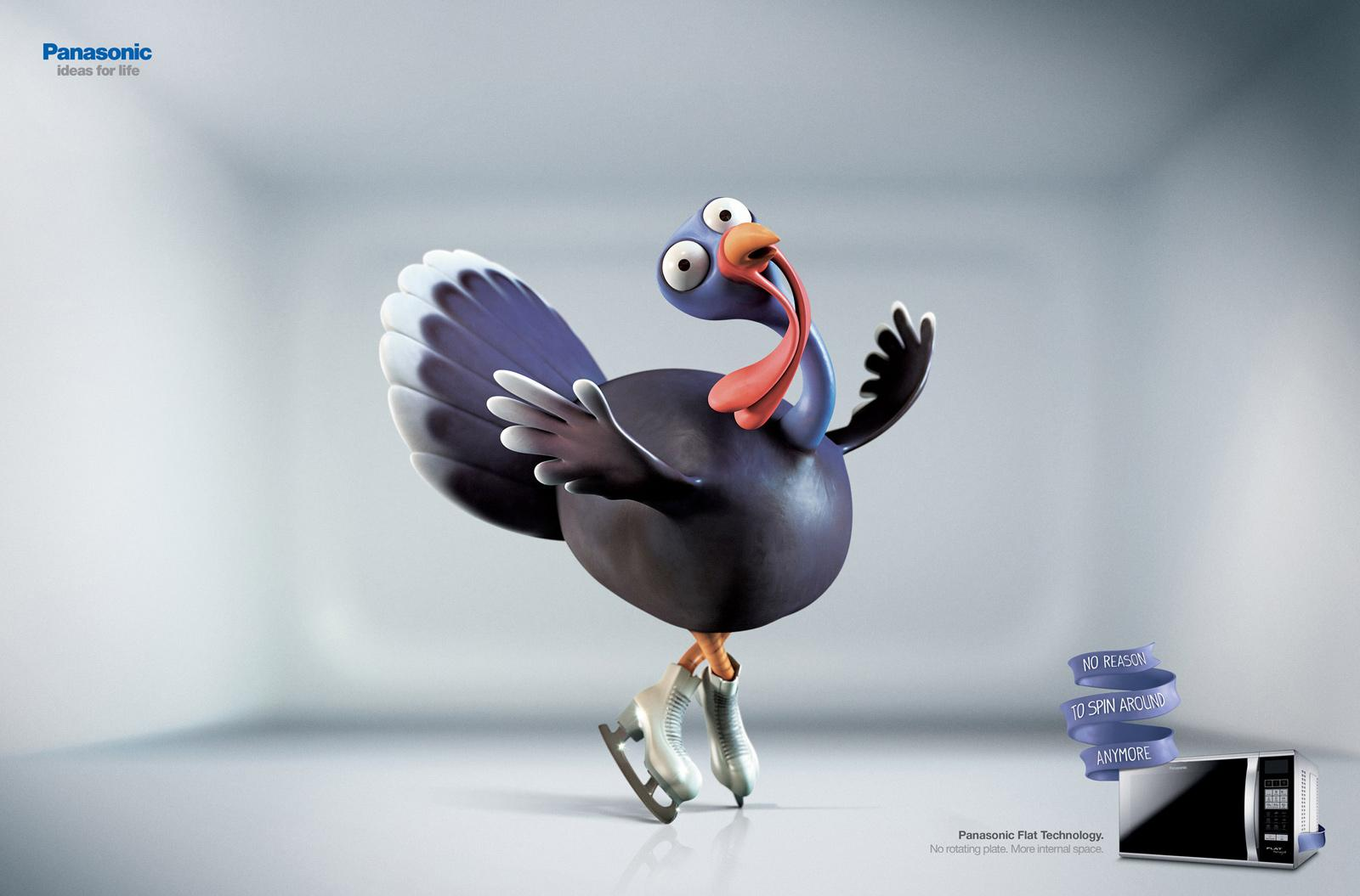 Panasonic Print Ad -  Turkey